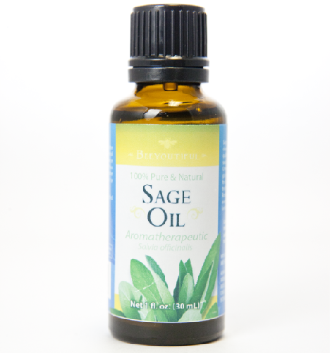 Ayurvedic Oils To Prevent Hair Fall - Sage Oil