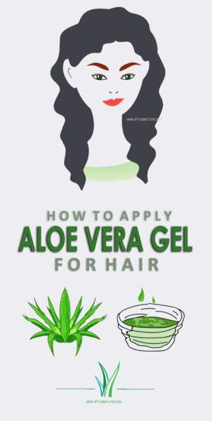 aloe vera gel for hair
