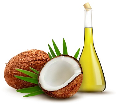Coconut oil-Herbal Hair Care Tips