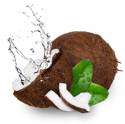 Coconut water to remove tan from hands