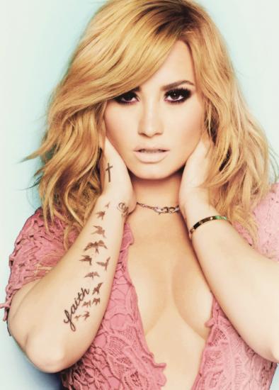 Demi Lovato Tattoo 2