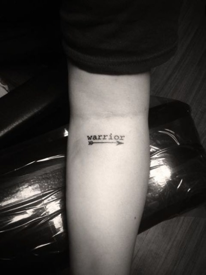 Demi Lovato Tattoo 4