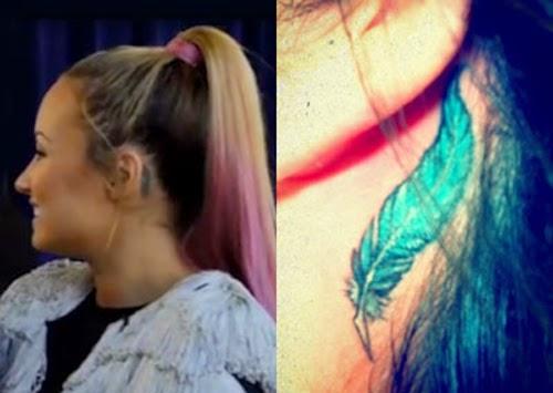 Demi Lovato Tattoo 5