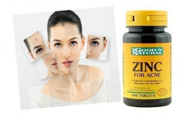 What does zinc do for acne