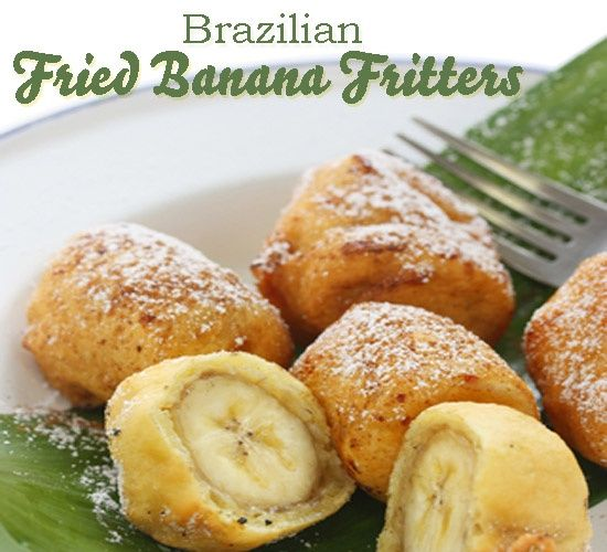 finger food recipes - Easy Brazilian Fried Bananas