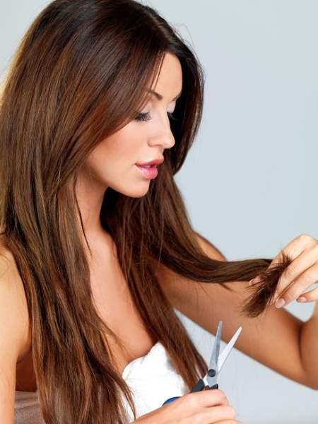 Hair cut split ends