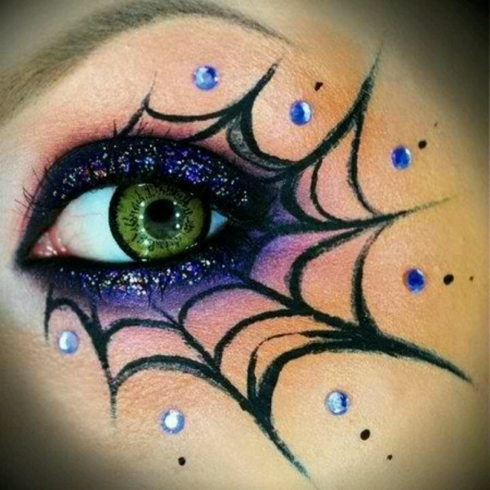 halloween eye makeup