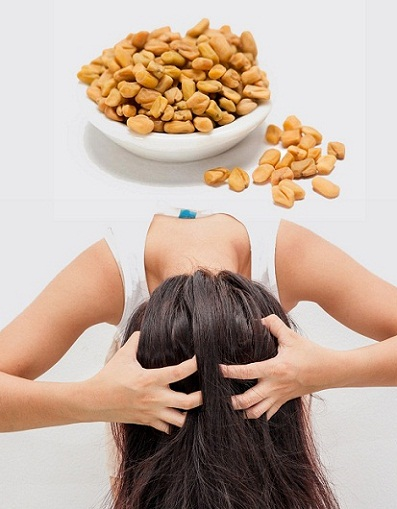 fenugreek for dandruff