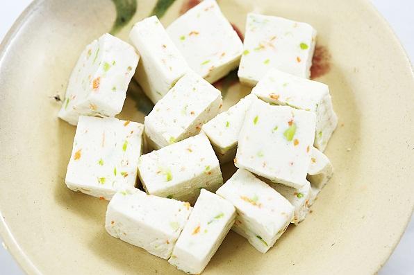 Toddler Food Recipes -Tofu Finger Cubes