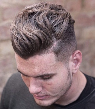 Wavy Hairstyles for Men 14