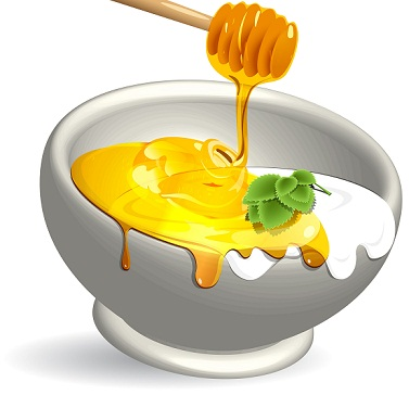 curd and honey For Fair Skin