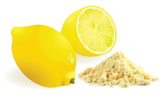 lemon and flour to remove tan