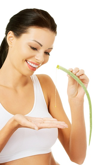 Aloevera for skin
