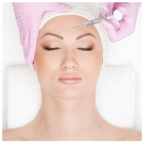 Botox injections - wrinkle