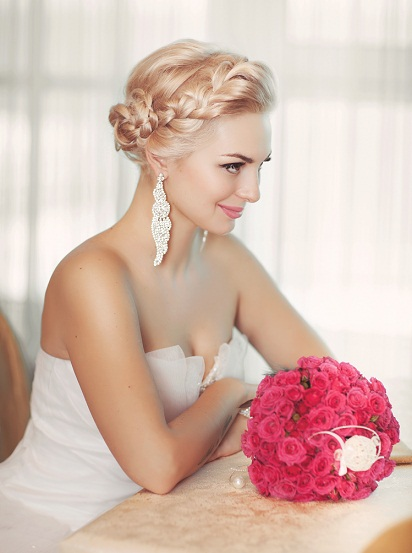 Bridal hairstyles for reception 1