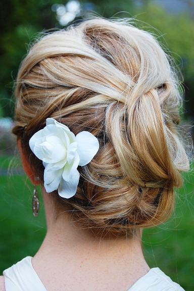 Bun hairstyles for girls 2
