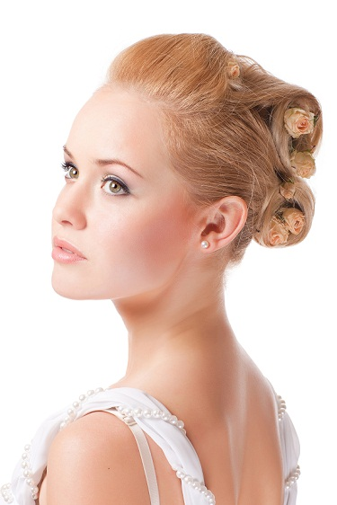 Bun hairstyles for girls 9