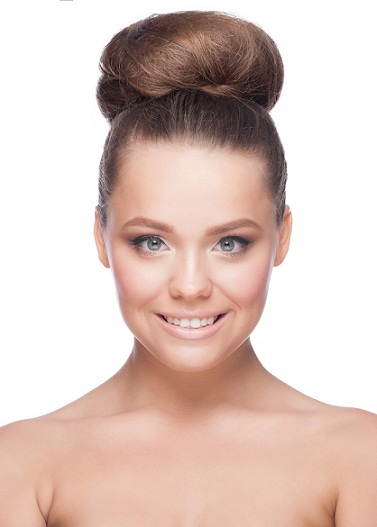 Bun Hairstyles for Long Hair 2