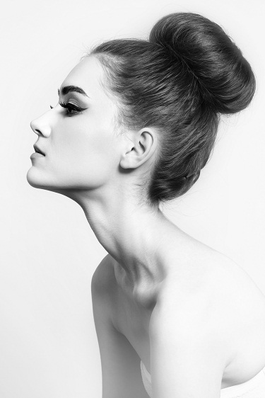 Bun hairstyles for prom 9