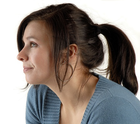 Casual ponytail hairstyles 8