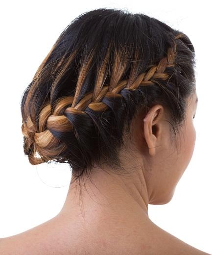 Cocktail hairstyles for medium hair 6