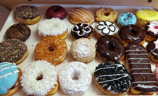 Donuts and Bangels Foods Causes of Acne