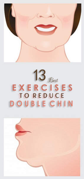To Reduce Double Chin