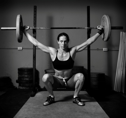 Lifting weights - exercises to burn fat