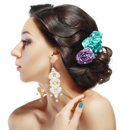 Maharashtrian Bridal Hairstyles for Girls