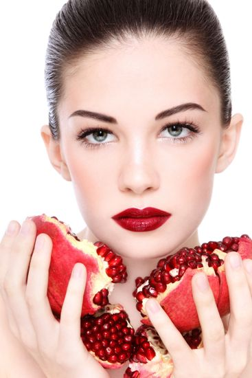 POMEGRANATE FACE MASKS