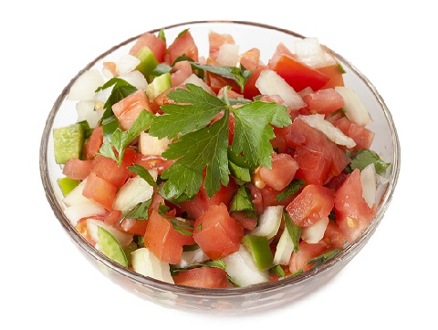 What Food Causes Pimples On The Face Salsa
