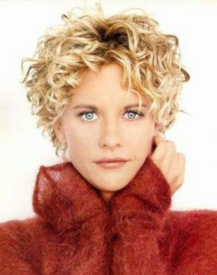 9 best and beautiful meg ryan hairstyles with images this flowery short length hairstyle has cute small ringlets all over the ringlets add volume to the hair however it is the tousled nature of the hair urmus Choice Image