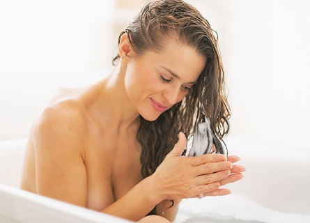 Steam Helps for soft hair