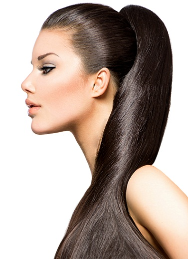 Straight hairstyles for round faces 4