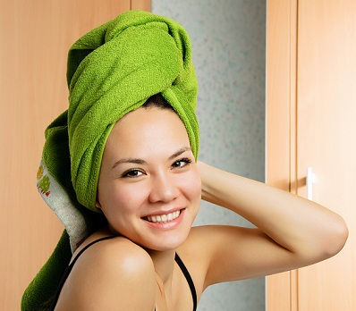 avoid Excess Water for soft hair
