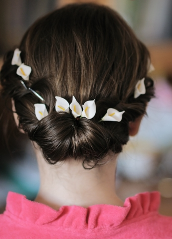 bun hairstyles for girls6