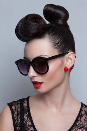 Bun Hairstyles for Long Hair 6
