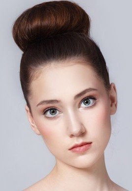 bun hairstyles for medium hair2
