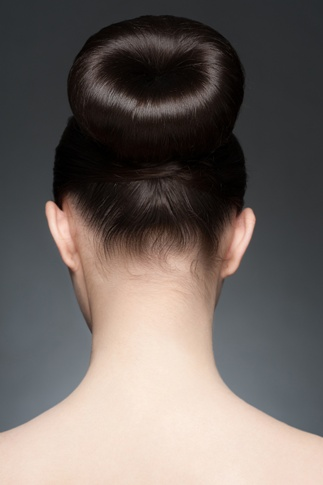 bun hairstyles for medium hair5