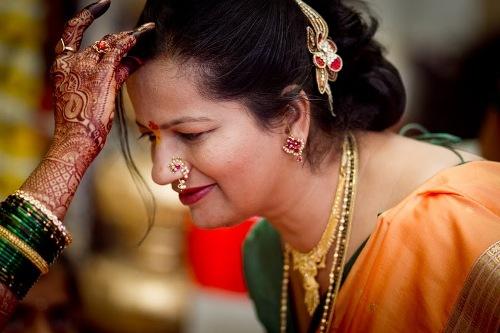 maharashtrian bridal hairstyle8
