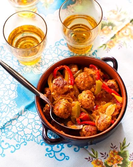 Afghan lamb meatballs