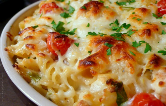 8 best continental food recipes styles at life chicken and spinach macaroni forumfinder Images
