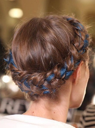 The Latest Floral Braid Hairstyles