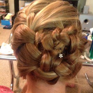 The Complex Floral Braid Hairstyle
