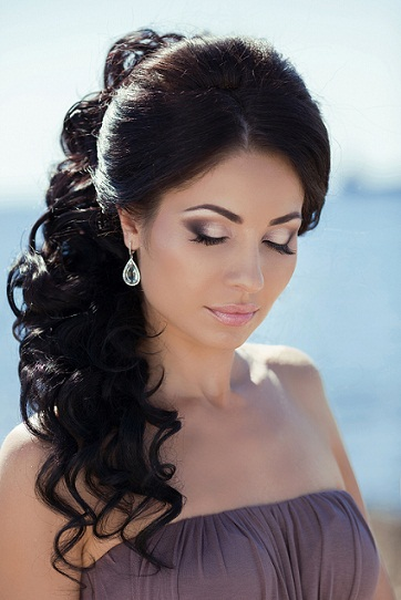Indian christain bridal hairstyles 2