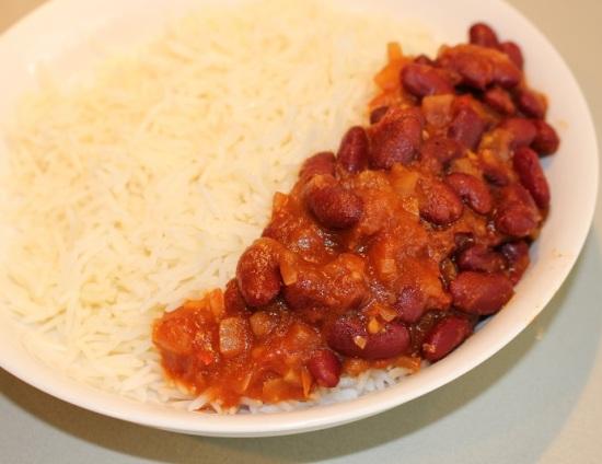 Kidney beans korma