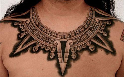 Necklace Tattoo design