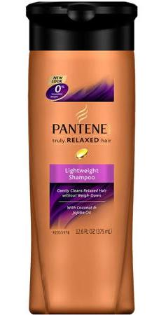 Pantene truly relaxed lightweight shampoo