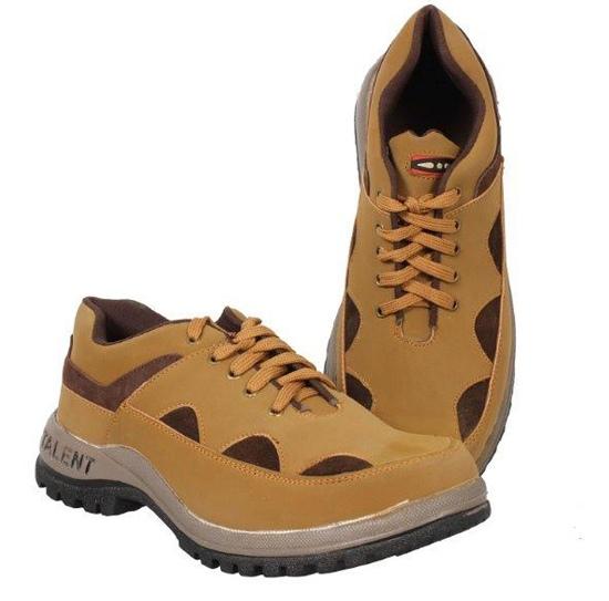 Tek tron Brown Leather Long shoes