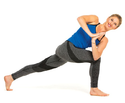 Warrior Twist Pose